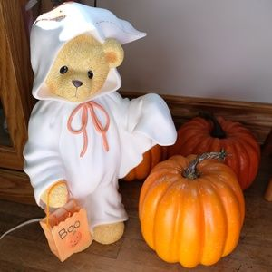 Cherished Teddies Halloween Ghost Vinyl Nightlight
